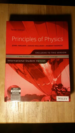 Principles of Physics Textbook for Sale in Cleveland, OH