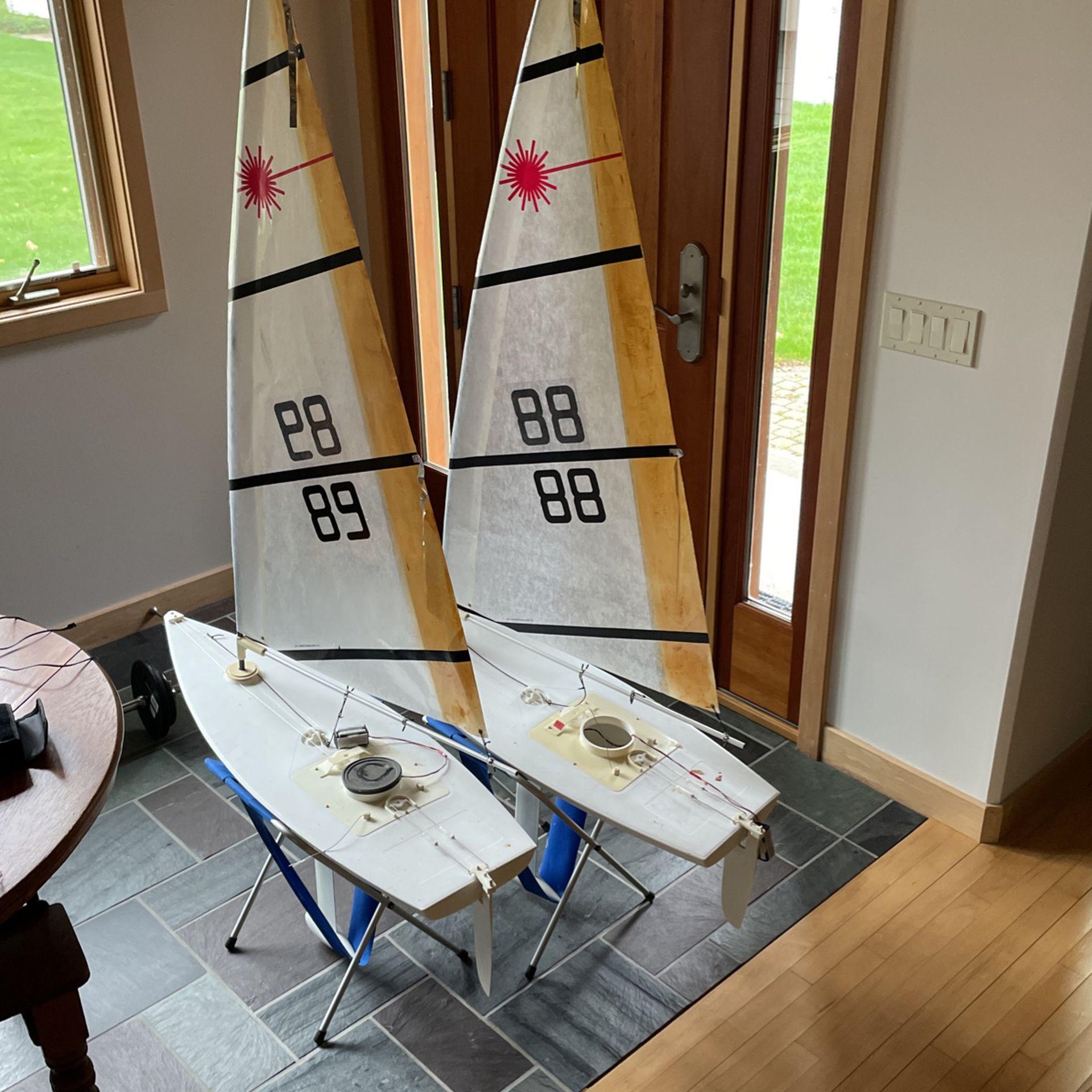 Photo Remote Control Sail Boats