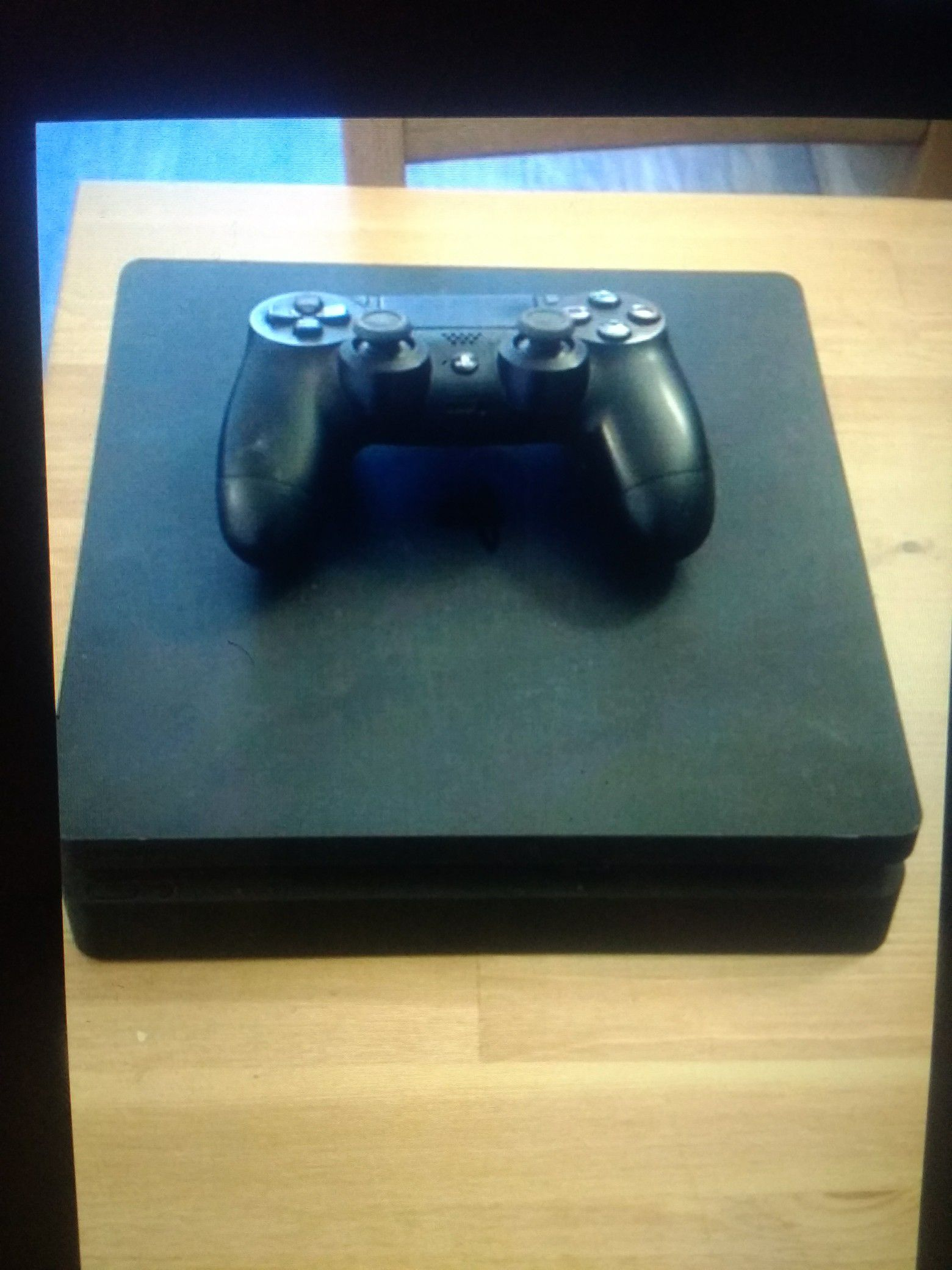 PS4 with Controller and 2 games!