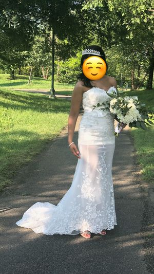 Detachable wedding dress for Sale in Washington, DC