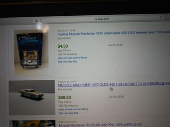 Muscle Machines - 70 Olds 442 Thumbnail
