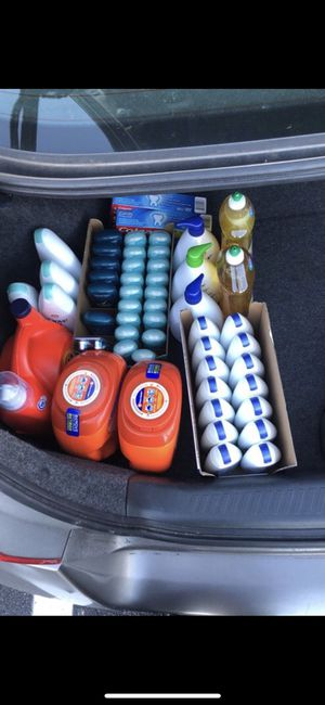 Body wash , lotion , Eucerin lotion tide pods pampers etc for Sale in Alexandria, VA