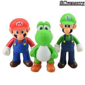 "3pcs/lot Super Mario Bros Luigi Mario Yoshi PVC Action Figures toy 5"" Wedding Decoration for Sale in Annville, PA"
