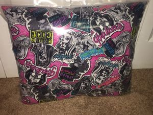 Monster High Cotton Pillow for Sale in Cleveland, OH