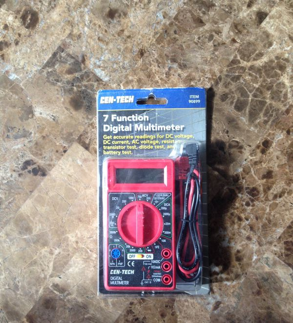 Cen Tech 7 function digital multimeter for Sale in Las Vegas, NV - OfferUp