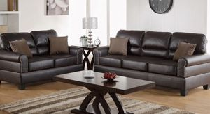 New leather couch and love seat set for Sale in Los Angeles, CA