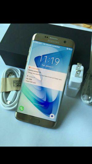 Samsung Galaxy S7 Edge, Unlocked, Great Condition. (Almost new) for Sale in Arlington, VA
