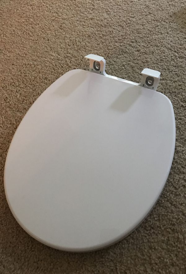 American Standard Round Toilet Seat Plastic Slow Close Household In Durham Nc Offerup
