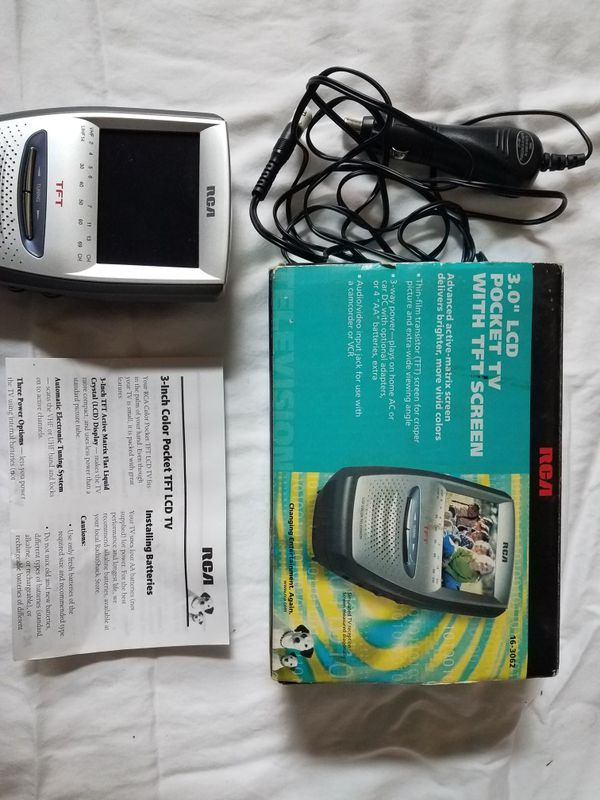 RCA 3 inch Color Pocket LCD TV for Sale in Plain City, OH - OfferUp