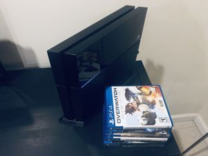 PS4 500GB. 1 controller. 7 games for Sale in Falls Church, VA