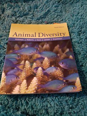 College Animal Diversity Book for Sale in Dallas, TX
