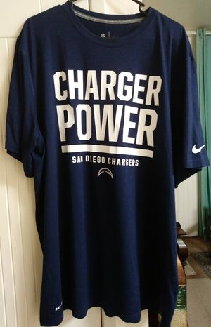 San Diego Chargers Nike Dri Fit Tee for Sale in Chula Vista, CA