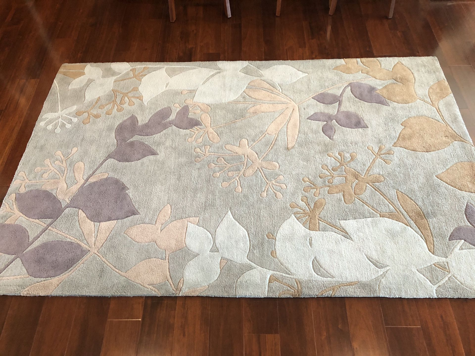 Plush 5x8 Area Rug with Pad PRICE REDUCED!