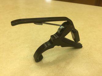 Trigger Capo Key Clamp Black Thumbnail