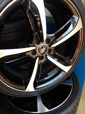 "20""Set off 4 Audi rims and tires. for Sale in Alexandria, VA"