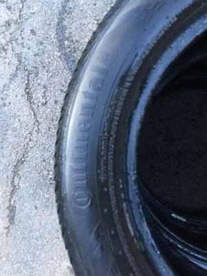 Set off 3 used tire 205/55/R16 All is $80 for Sale in Leesburg, VA