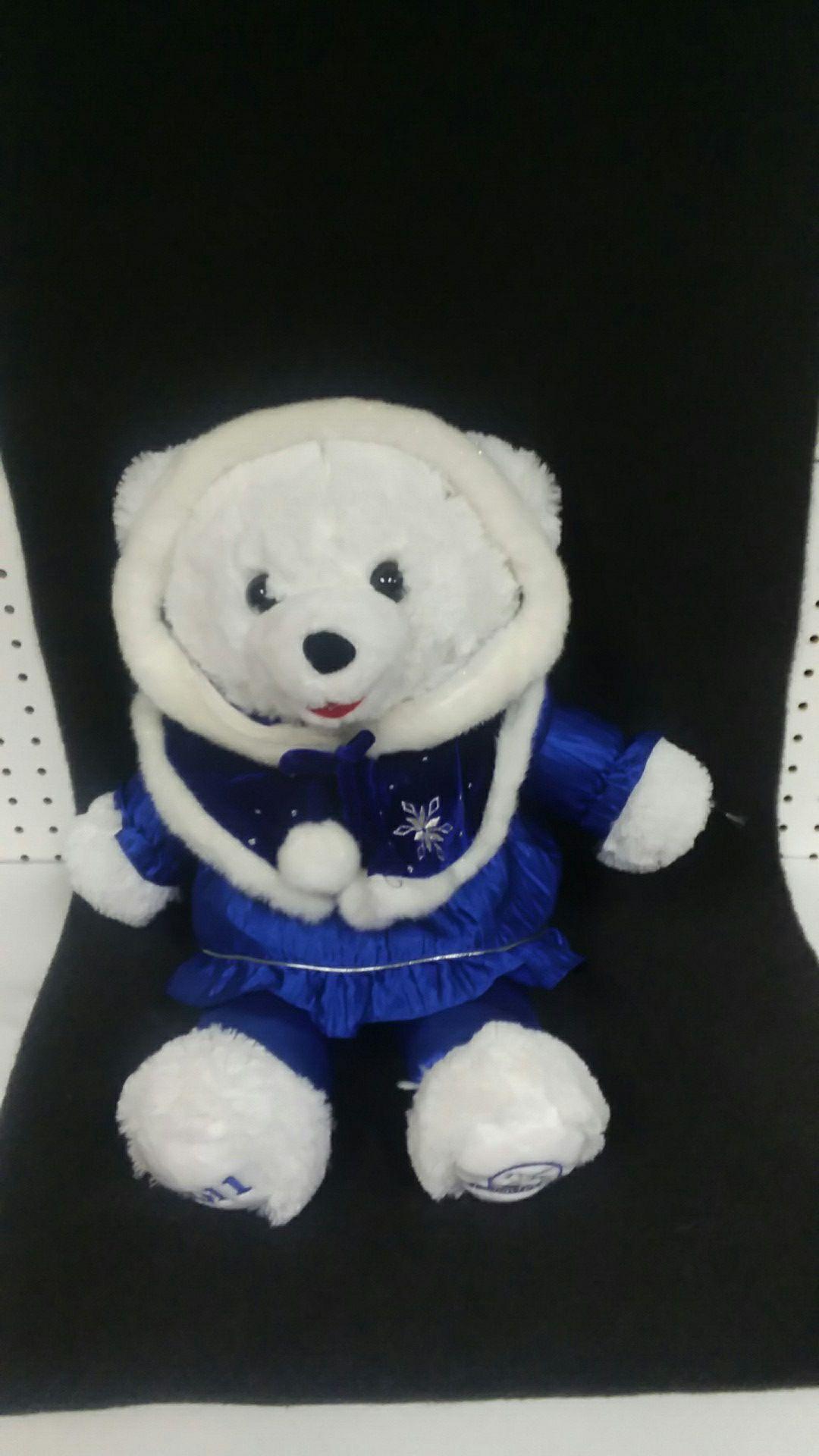 2011 25th Anniversary Christmas Teddy Bear