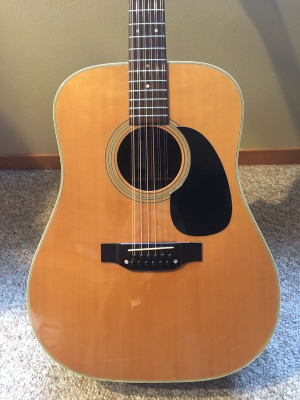 Takamine F400 12 String Guitar Lawsuit Era 1979 For Sale In