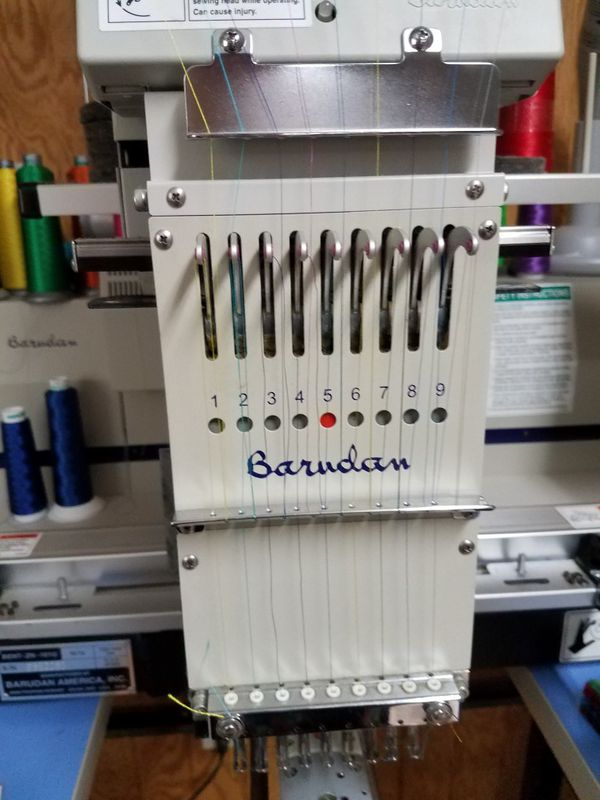 Used Embroidery Machines >> Barudan Embroidery Machine For Sale In Morriston Fl Offerup