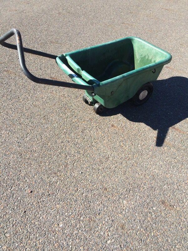 Rare Scott S Yardall 4 Wheel Garden Cart Wheel