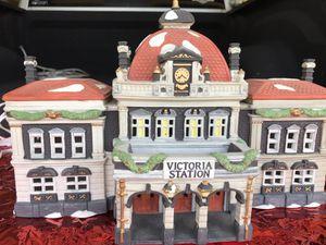 Dickens Village Series, Victoria Station for Sale in Punta Gorda, FL