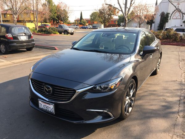 2016 Mazda 6 Grand Touring W Tech Package Grey