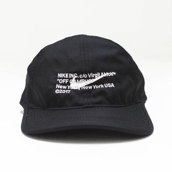 2a8b816bf6e NIKE X VIRGIL ABLOH OFF WHITE NIKE HAT BLACK for Sale in New York ...