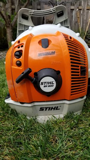 Stihl BR 600 Magnum Profesional Backpack Blower $400 for Sale in Puyallup,  WA - OfferUp