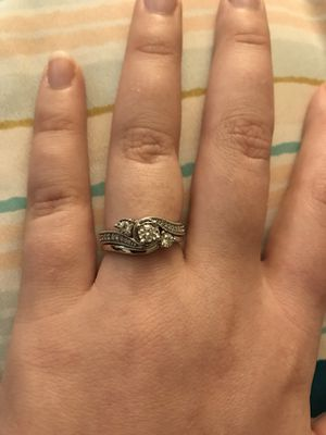 Engagement Ring AND Wedding Band for Sale in Apopka, FL