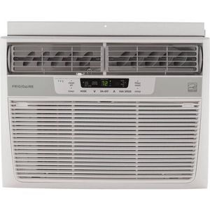 Frigidaire FFRE1033S1 10,000 BTU 115V Window-Mounted Compact Air Conditioner with Temperature Sensing Remote Control for Sale in Houston, TX