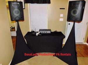 Audio and Karaoke Equipment Rentals for Sale in Alexandria, VA