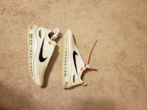 Nike Air Max 97 Off White Size 8 for Sale in Columbia, MD