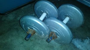 40lbs 2 dumbbells 20lbs each for Sale in Stockton, CA