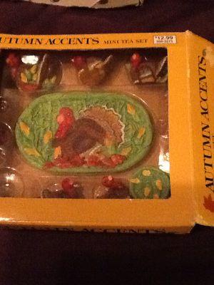 Mini ceramic tea sets $4. Each or 3/$10. for Sale in Kissimmee, FL