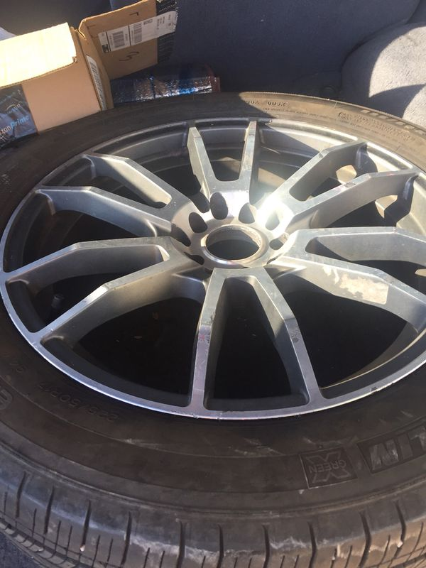 17 Katana Wheels Universal 5 Lug W Tires For Sale In