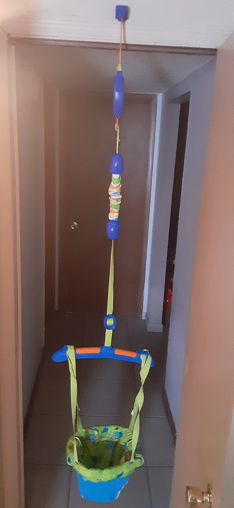 Baby bungee swing
