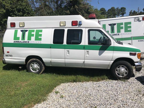 2003 Ford Econoline Ambulance 7 3L Diesel for Sale in Forest Park, GA -  OfferUp