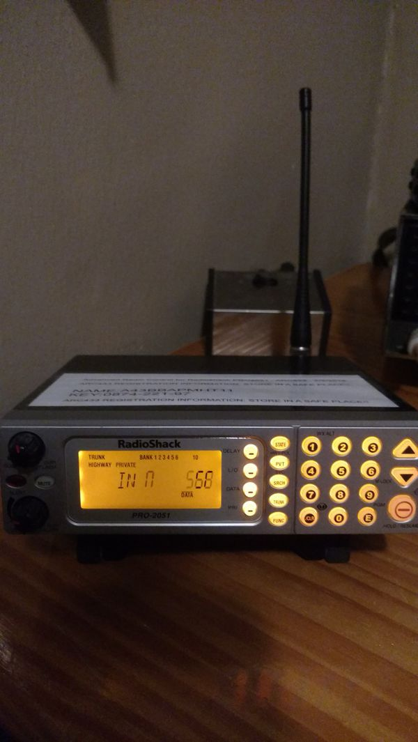 Radio Shack Pro 2051 police scanner for Sale in Martinsville, IN - OfferUp