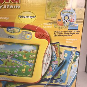 VTECH WHIZ KID Learning System Console & Wondertown Game WHIZWARE NEW for Sale in San Diego, CA