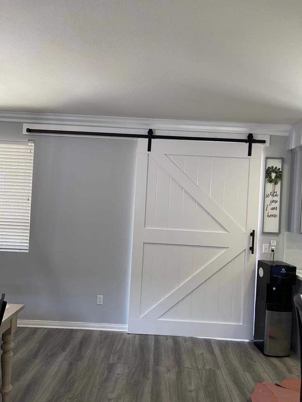 Barn Door With Hardware