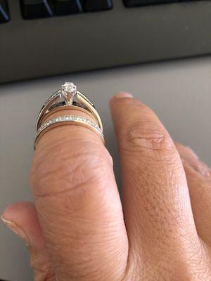 Time to let go.... Wedding/Engagement Set for Sale in Waynesboro, VA