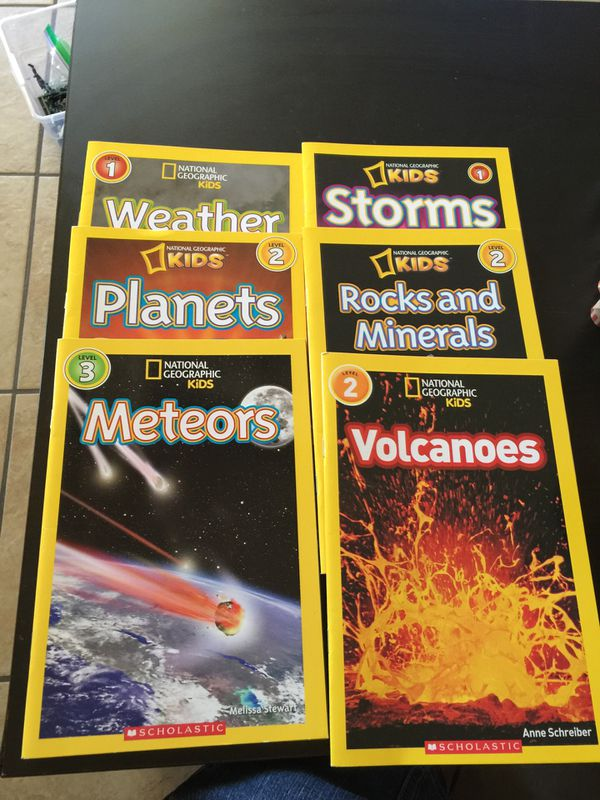 NATIONAL GEOGRAPHIC KIDS BOOKS for Sale in Phoenix, AZ - OfferUp