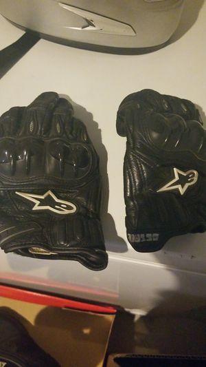 Alpinestars gloves medium for Sale in Alexandria, VA