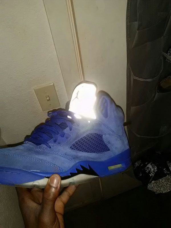 quality design a9ec1 2f6ed All blue 5s 8/10 condition worn 5× for Sale in Oakland, CA - OfferUp