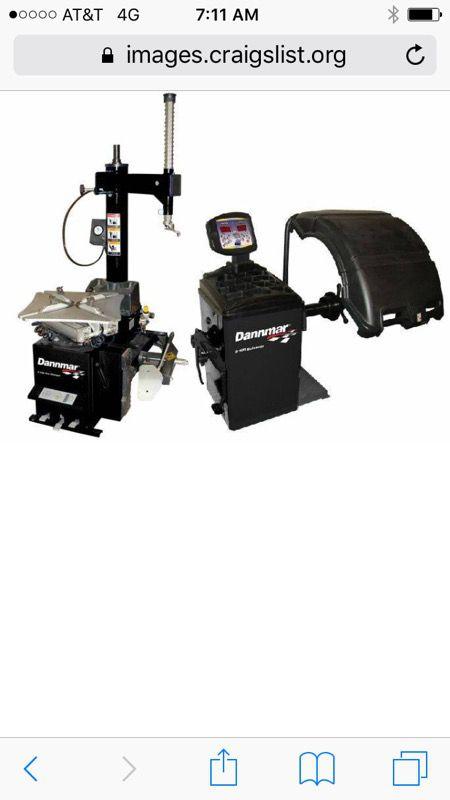 Danmar Tire Changer And Wheel Balancer For Sale In Jupiter Fl