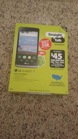Straight talk lg sunset gsm 4G smartphone for only 60 for Sale in  Jacksonville, FL - OfferUp