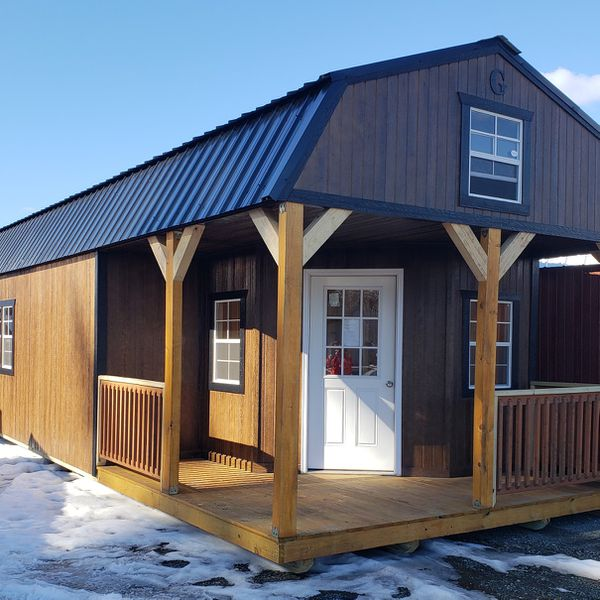Tiny Home Cabin Portable Building Barn Utility Storage Shed for Sale in  Monroe, WA - OfferUp