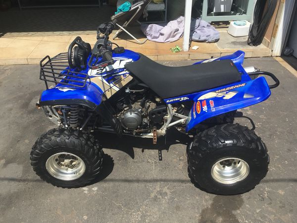 2000 Yamaha Warrior 350 Atv