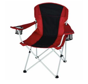 Ozark Trail Oversized Chair with Cup Holders and Quick-Pack Strap red-black Color j7-1953 for Sale in St. Louis, MO