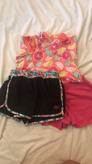 Girls size 10 summer clothes for Sale in Manassas, VA